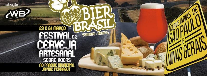 Festival de Cervejas sobre rodas chega a Vinhedo em Março