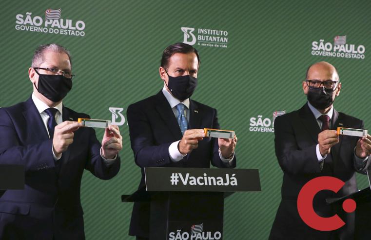 Butantan deu início nesta quinta à solicitação do registro emergencial de vacina junto à Anvisa