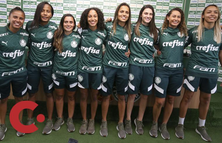 Palmeiras Feminino apresenta reforço para 2021