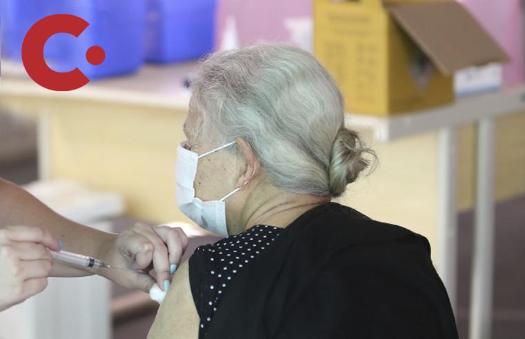 Louveira inicia a vacinação para moradores com mais de 85 anos hoje