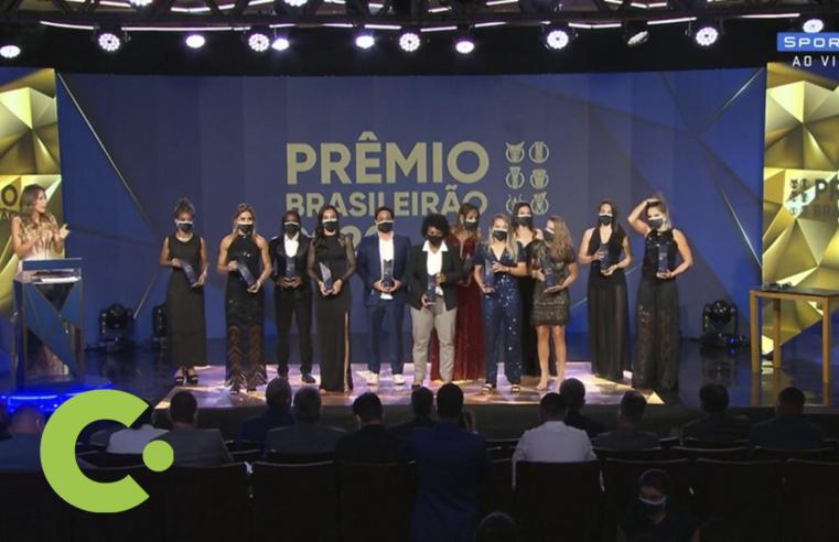 Duas jogadoras do Palmeiras estão entre as melhores do Brasileirão 2020
