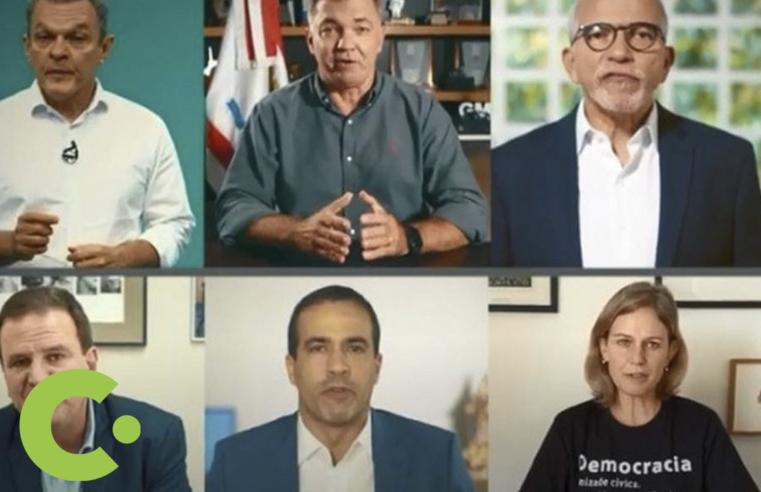 Prefeitos pedem em vídeo ajuda internacional para conter pandemia no Brasil